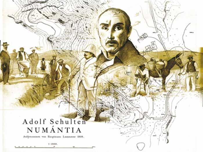 schulten-descubrimiento-numancia-museo-arqueologico-regional-alcala-henares