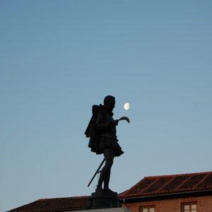 Visita nocturna cervantina a Alcalá de Henares