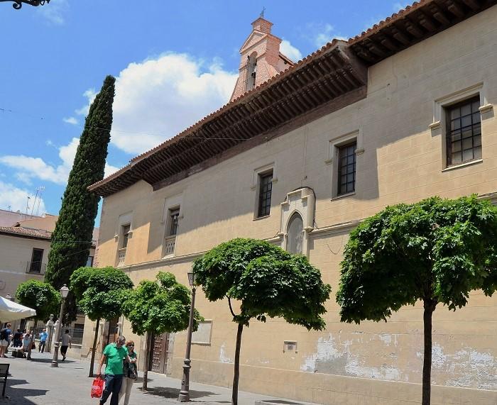 Llegas a Alcalá de Henares