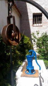 bomba hidráulica. Fundación Antezana