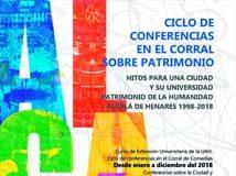 Ciclo de conferencias en el Corral sobre patrimonio