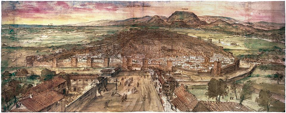 Caminando por la antigua Alcalá de Henares
