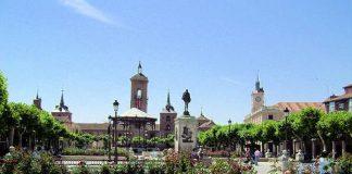 Algunas de las principales calles y plazas del centro histórico de Alcalá de Henares