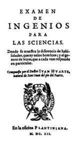 Los orígenes de la psicología. Alcalá de Henares