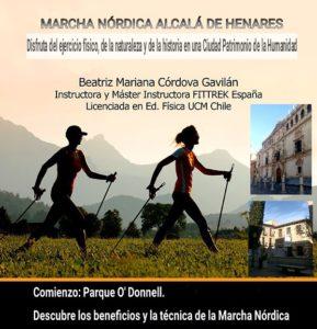 Marcha Nórdica Alcalá de Henares