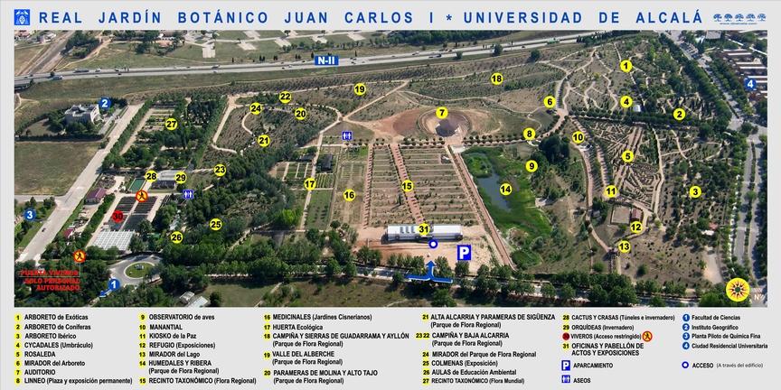 Real Jardín Botánico Juan Carlos I Universidad de Alcalá