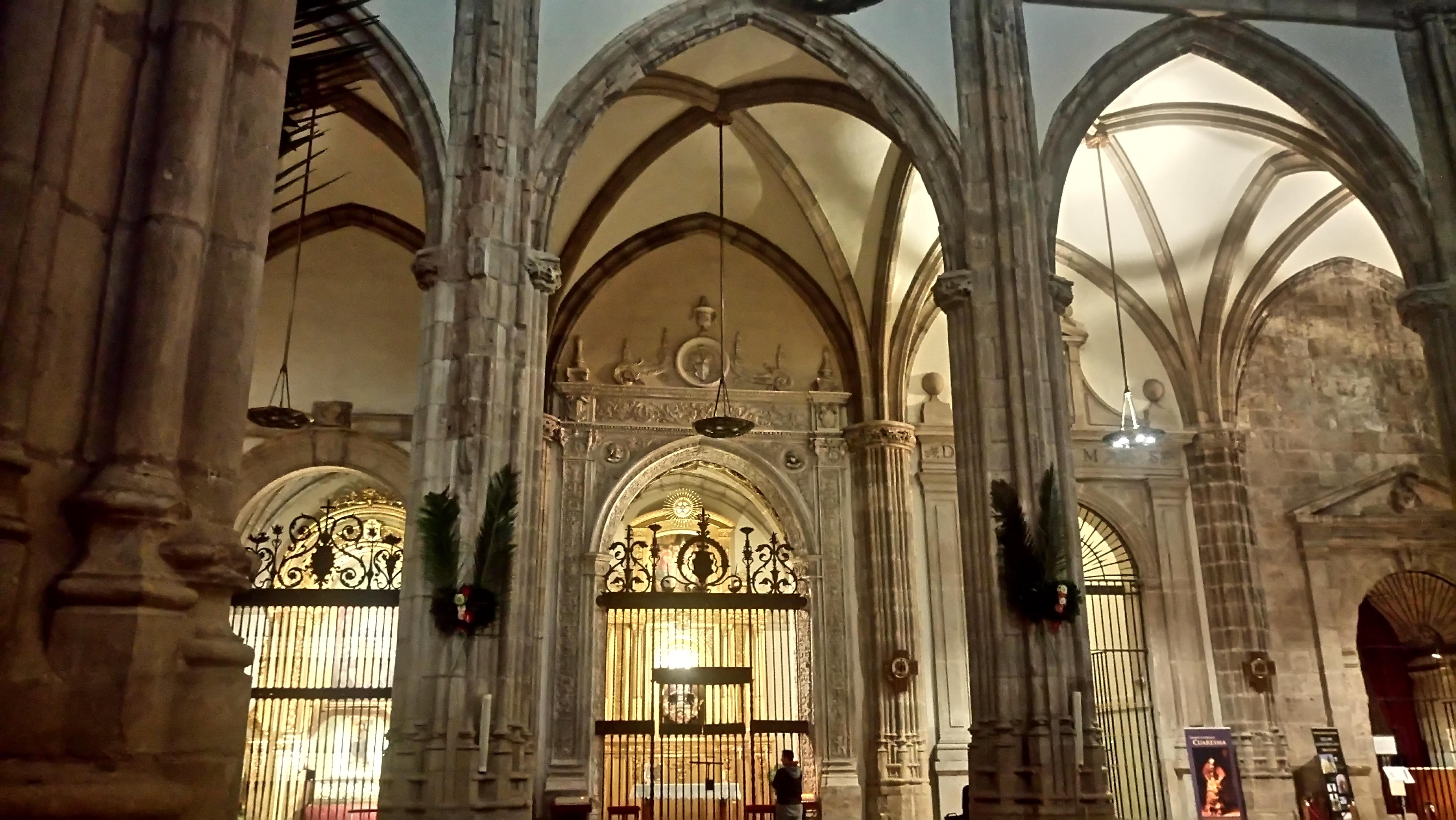 Un detalle curioso en la Catedral Magistral