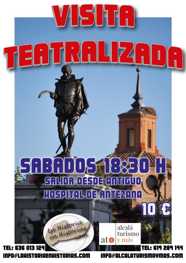 Visita Teatralizada a Alcalá de Henares