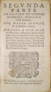 Guzmán de Alfarache y la vida de los estudiantes de Alcalá de Henares
