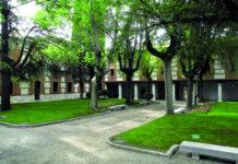 El Patio de Continuos o Filósifos de la Universidad de Alcalá de Henares