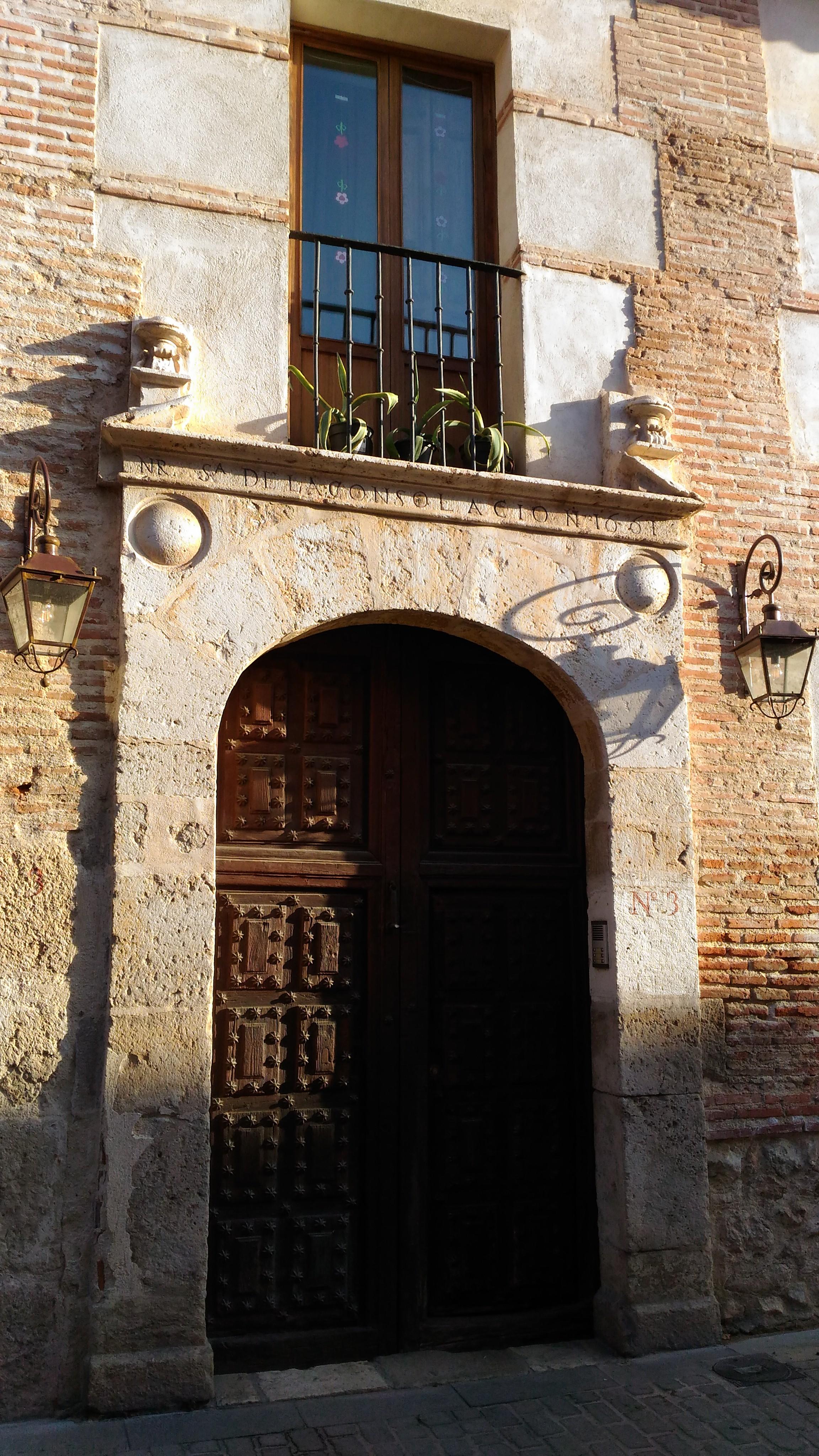 La casa nobiliaria en Alcalá de Henares