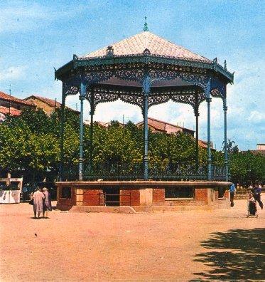 El quiosco de la música de la plaza de Cervantes de Alcalá de Henares