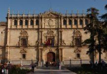 La fachada de la Universidad de Alcalá de Henares