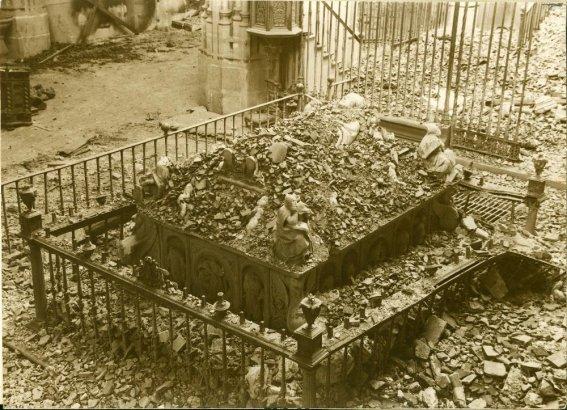 La reja del sepulcro del Cardenal Cisneros