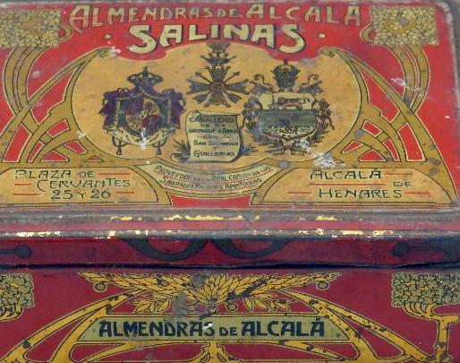 Repostería Salinas de Alcalá de Henares, desde 1846