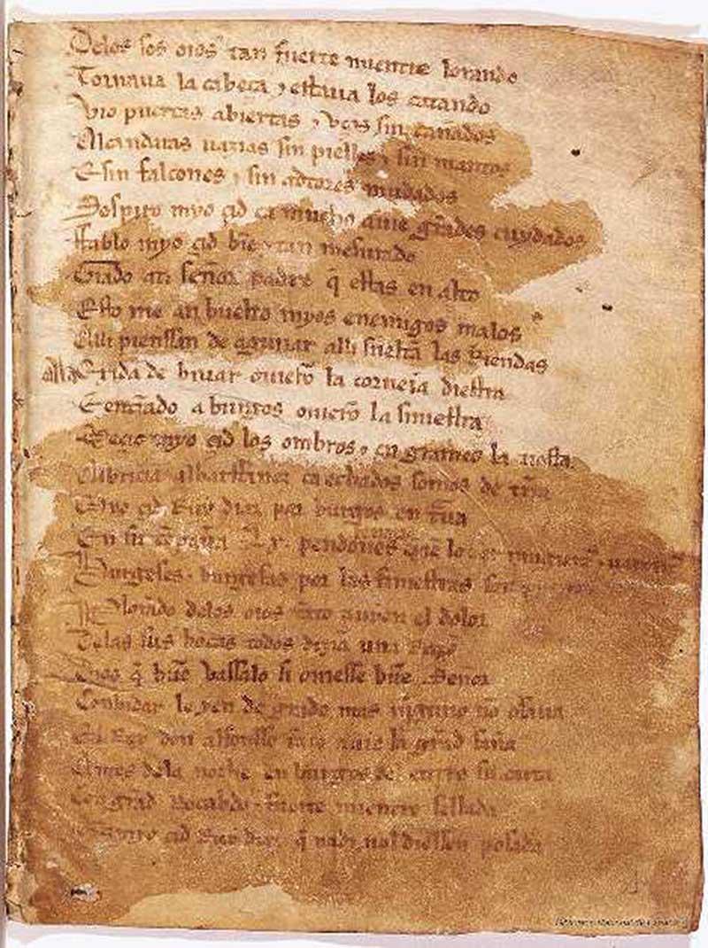 Alcalá de Henares en el Cantar de Mio Cid