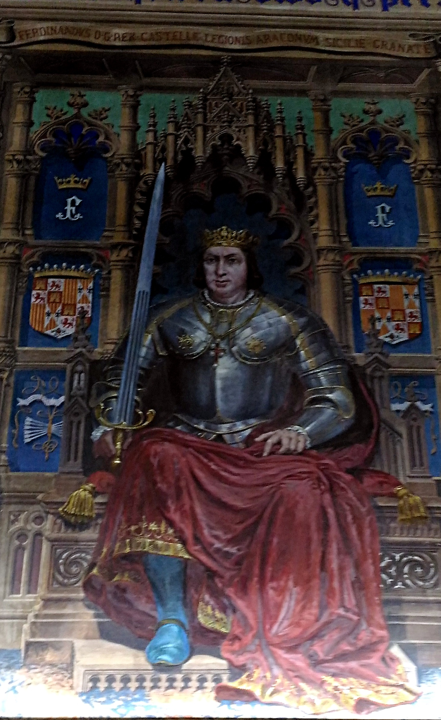 Los reyes y reinas del Palacio Laredo de Alcalá de Henares