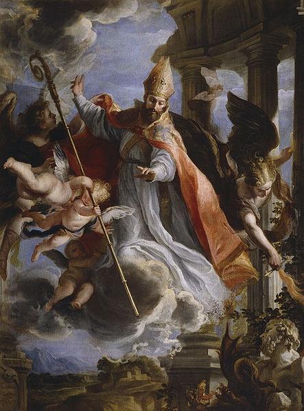 El triunfo de San Agustín, Claudio Coello