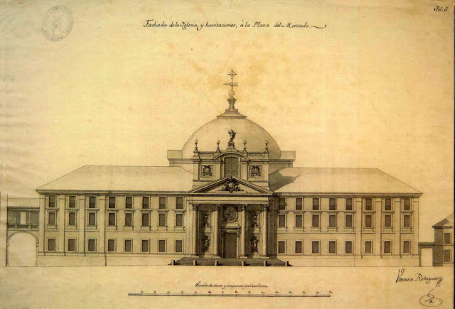 El proyecto de Ventura Rodríguez en Alcalá de Henares para la Universidad de Alcalá de Henares