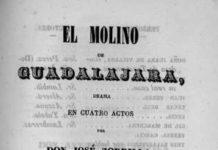 """""""El molino de Guadalajara"""" de José Zorrilla y el castillo de Alcalá de Henares"""