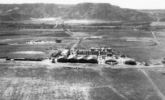 El antiguo aeropuerto de Alcalá de Henares