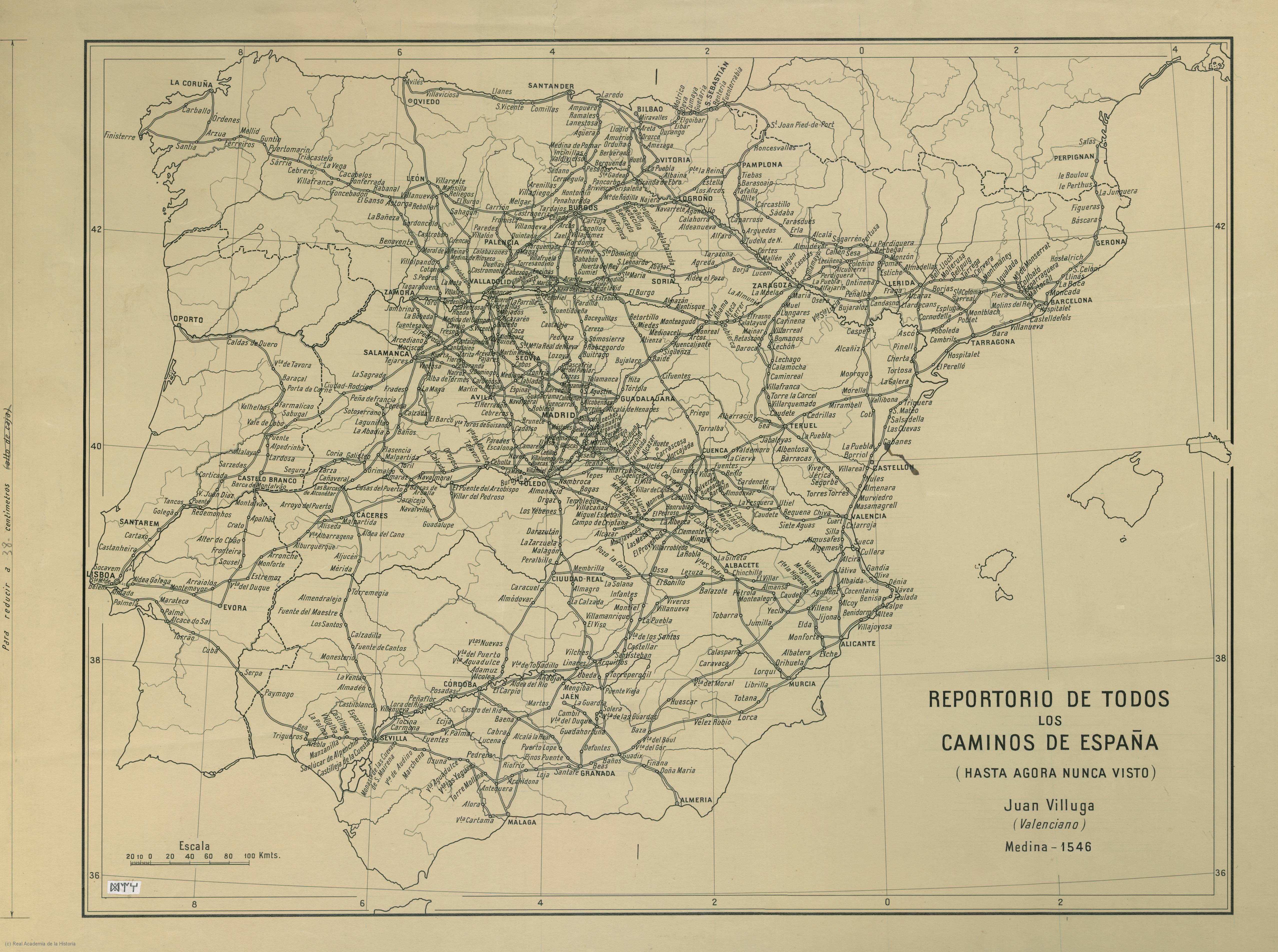 Camino ignaciano entre Barcelona y Alcalá de Henares