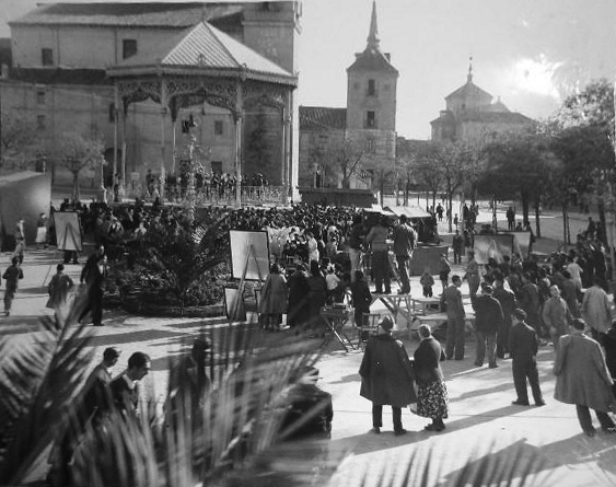 Alcalá de Henares capital de provincias. La Señorita de Trévelez, 1936
