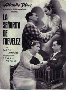 Alcalá de Henares capital de provincias, La Señorita de Trévelez, 1936