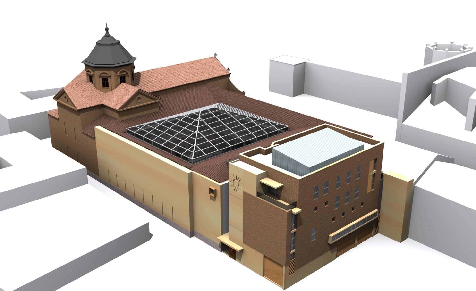 Ampliación del Museo Arqueológico Regional de Alcalá de Henares