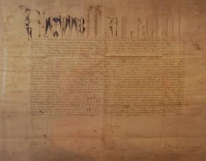"""Carta Bulada """"Inter Cetera"""", el origen de la Universidad de Alcalá de Henares"""