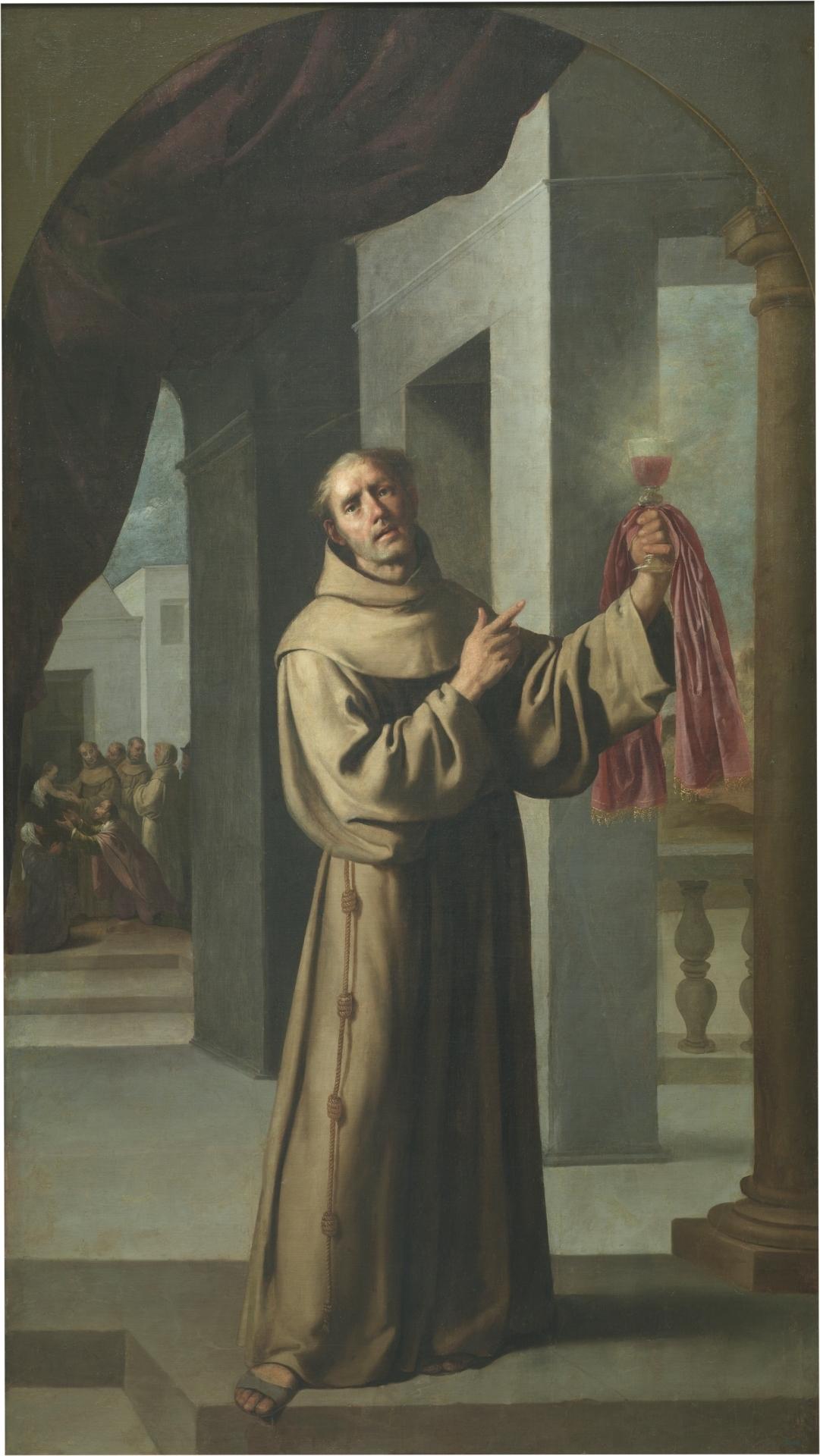 San Jacobo de la Marca, de Francisco Zurbarán