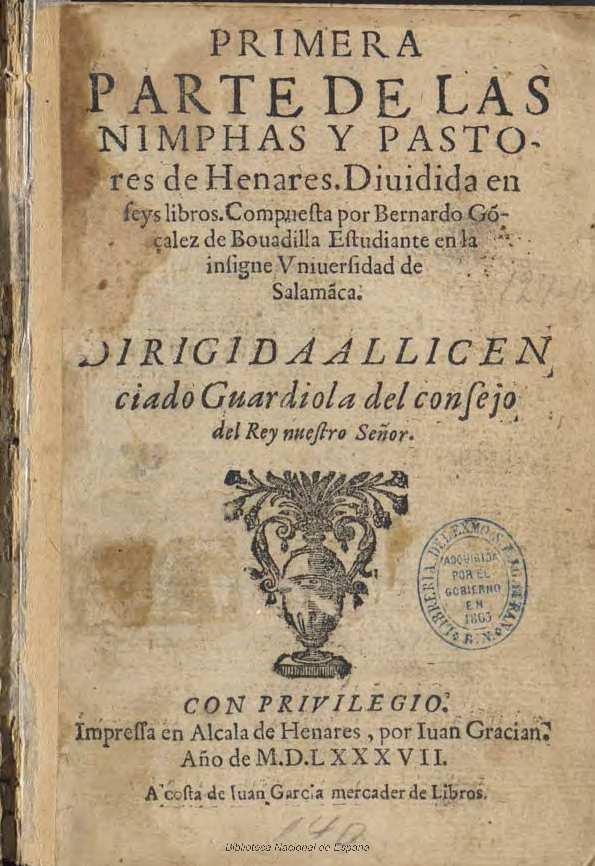 Bernardo González de Bobadilla y sus ninfas del Henares