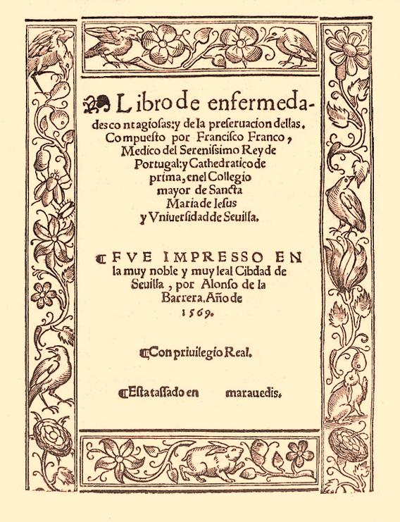 Un médico que previno la peste en Alcalá de Henares