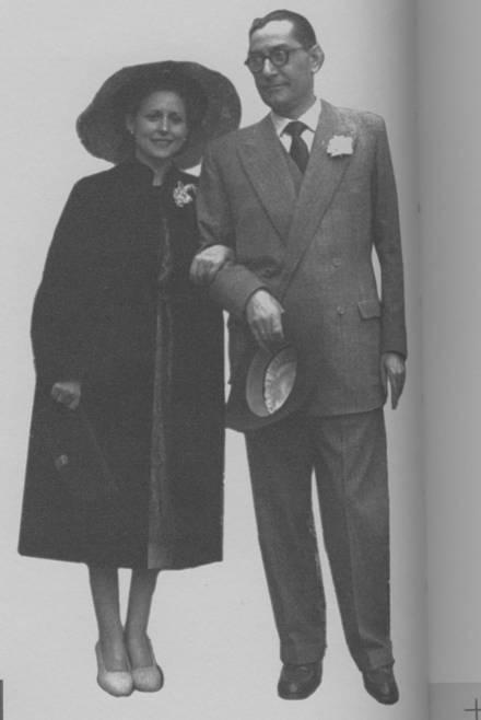Luis Rosales, su boda en Alcalá de Henares