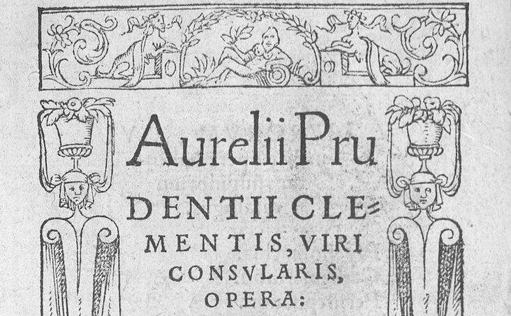 Aurelio Prudencio Clemente, poeta latino y cristiano