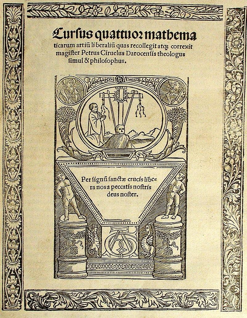 Saber más que el maestro Ciruelo, Pedro Ciruelo, maestro en Alcalá de Henares