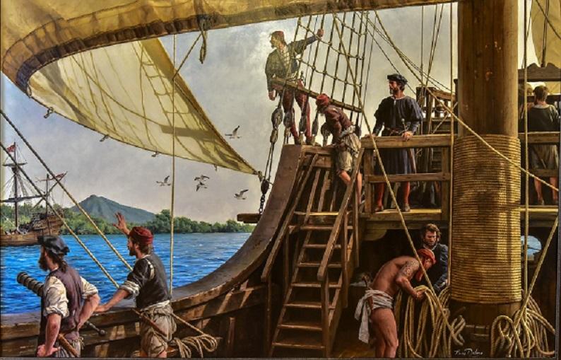 Juan de Campos, un alcalaino en la expedición de Magallanes