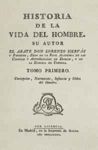 Hervás y Panduro, un gran intelectual que estudió en Alcalá de Henares