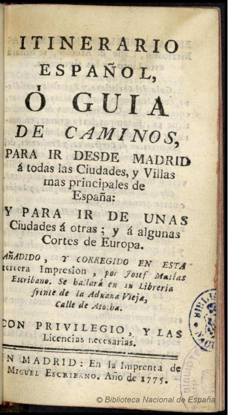 Alcalá de Henares y el transporte en el siglo XVIII