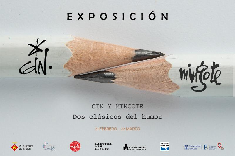 Gin y Mingote, dos clásicos del humor... en Alcalá de Henares
