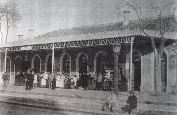 La vieja estación de ferrocarril de Alcalá de Henares