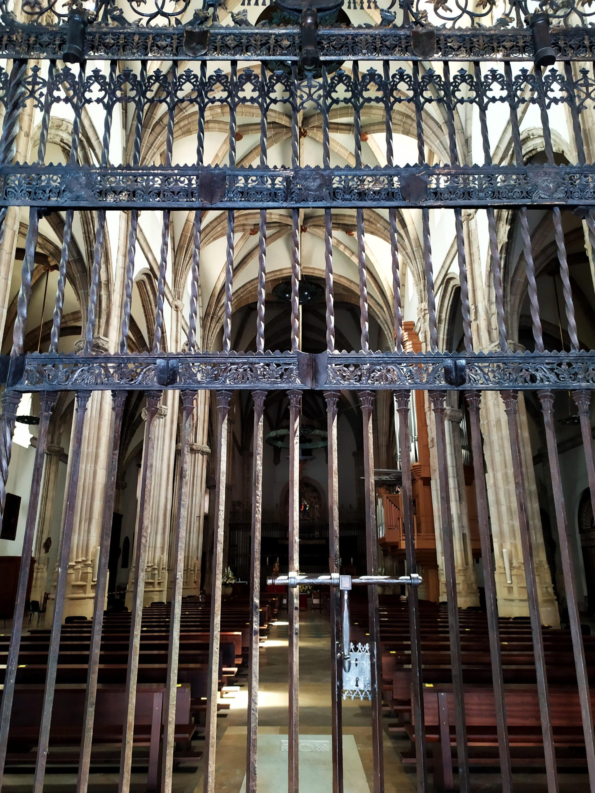 Algunas rejas de la Catedral Magistral de Alcalá de Henares
