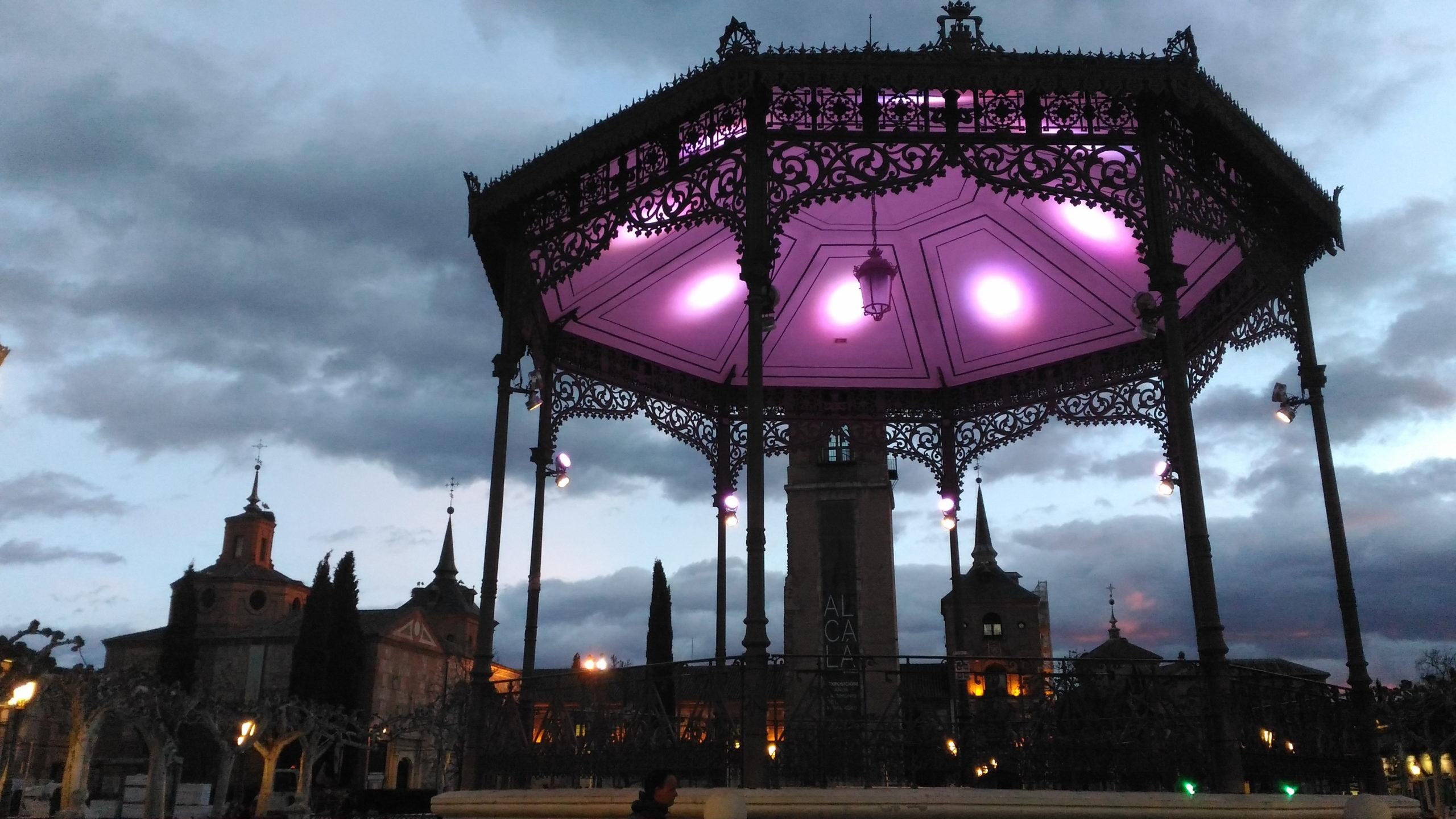 Free tour nocturno cervantino en Alcalá de Henares