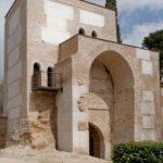 La puerta norte o de Burgos, muralla de Alcalá de Henares