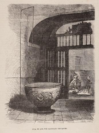 La Patria de Cervantes, la Ilustración de Madrid, 1871