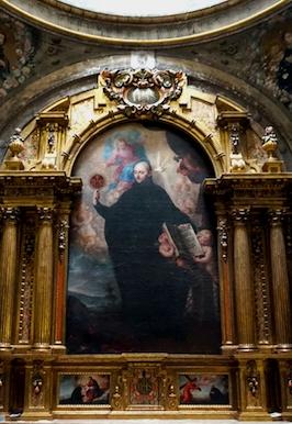 San Ignacio de Loyola en Alcalá de Henares, Fidel Fita, 1898