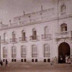 El Gran Hotel Cervantes de la plaza de Cervantes de Alcalá de Henares