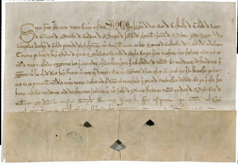 Los Estudios Generales de Alcalá de Henares, Sancho IV. I