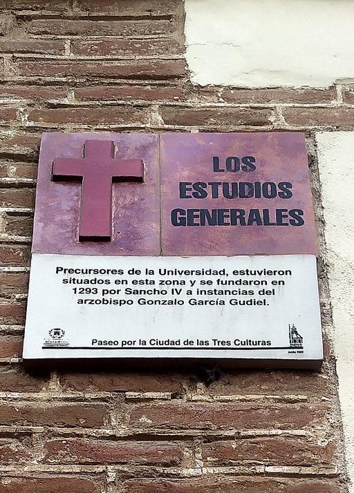Estudios Generales de Alcalá de Henares, Sancho IV. III