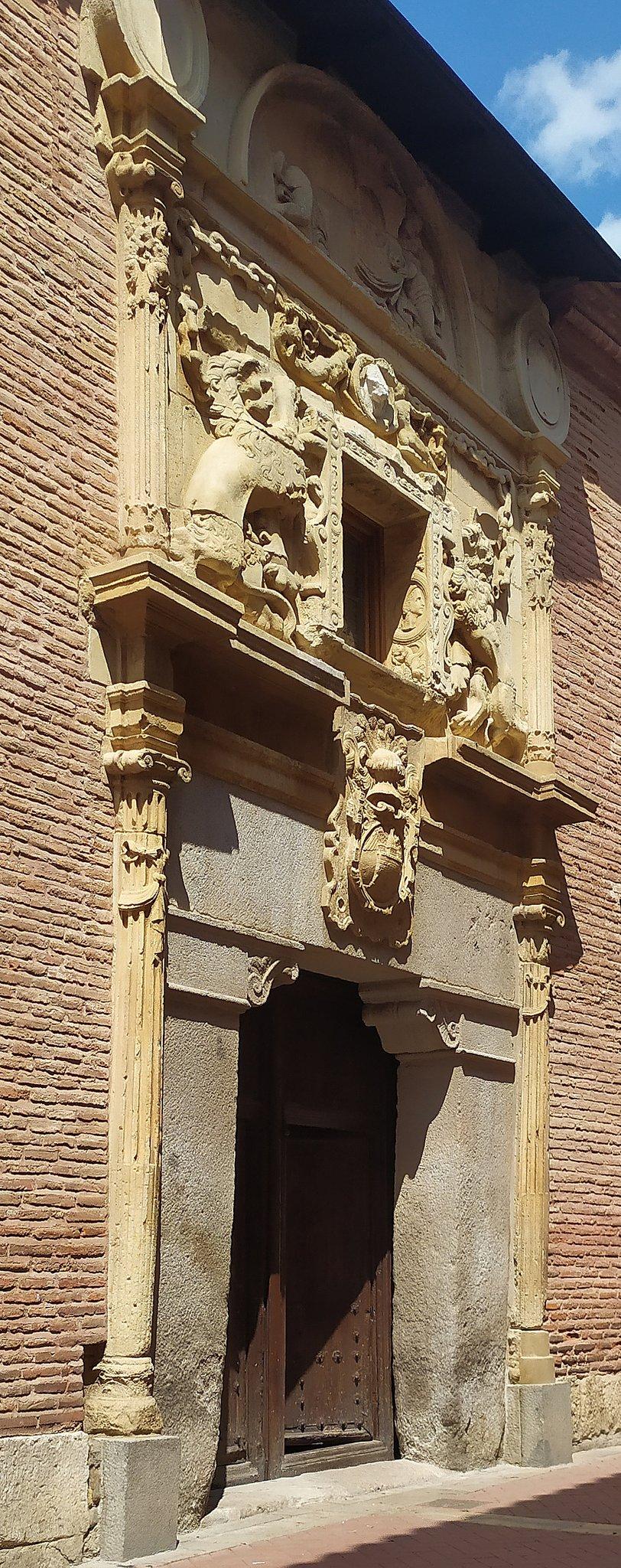 La casa de los Lizana, un bello edificio renacentista de Alcalá de Henares